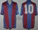 FC Barcelona - 1982/83 - Home - Meyba - 7ma Fecha LFP vs CD Malaga - D. Maradona