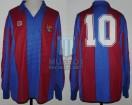 FC Barcelona - 1983/84 - Home - Meyba - QF Recopa (IDA) vs Manchester United - D. Maradona