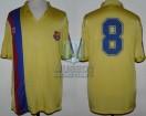 FC Barcelona - 1984/85 - Away - Meyba - Recopa (VTA) vs Metz - B. Schuster