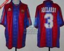 FC Barcelona  - 1996 - Home - Kappa - SF Joan Gamper Cup vs San Lorenzo - Abelardo