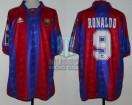 FC Barcelona  - 1996 - Home - Kappa - SF Joan Gamper Cup vs San Lorenzo - Ronaldo