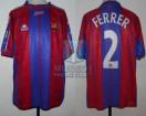 FC Barcelona - 1997/98 - Home - Kappa - 32da Fecha LFP vs Real Oviedo - A. Ferrer