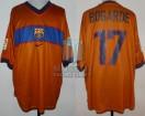 FC Barcelona - 1998/99 - Away - Nike - Centenary - Liga España/Copa del Rey - W. Bogarde