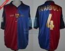 FC Barcelona - 1999/00 - Home - Nike - Centenary - J. Guardiola