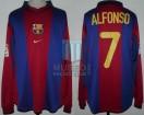 FC Barcelona - 2000/01 - Home - Nike - 13ra Fecha LFP vs Celta de Vigo - A. Perez