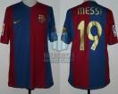 FC Barcelona - 2006/07 - Home - Nike - 2da Fecha LFP vs Osasuna - L. Messi