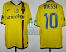 FC Barcelona - 2009/10 - Away - Nike - Unicef - QF UEFA CL Ida vs Arsenal - L. Messi