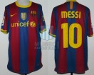FC Barcelona - 2010/11 - Home - Nike - Unicef - 7ma Fecha LFP vs Valencia CF - L. Messi