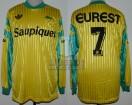 FC Nantes - 1991/92 - Home - Adidas - Saupiquet/Eurest - Ligue France Division 1 - J. Burruchaga