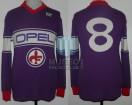 AC Fiorentina - 1984/85 - Home - NR - Opel - Serie A Calcio / Copa Italia / Copa UEFA - Socrates