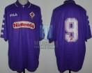 AC Fiorentina - 1998 - Home - Fila - Nintendo - Trofeo Ciudad de Vigo vs Celta de Vigo - G. Batistuta