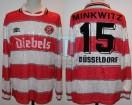 Fortuna Dusseldorf - 1995/96 - Home - Umbro - Diebels - S. Minkwitz