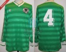 Germany - 1984 - Away - Adidas - Friendly vs Argentina - D. Jakobs