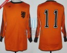 Holland - 1978 - Home - Adidas - Qualy Euro 80' vs East Germany - W. Van Der Kerkhof