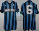 Internazionale - 1986/87 - Home - Le Coq Sportif - Misura - Serie A / UEFA Cup - D. Passarella