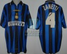 Internazionale - 1996 - Home - Umbro - Pirelli - Final Joan Gamper Cup vs FC Barcelona - J. Zanetti