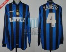 Internazionale - 1997/98 - Home - Umbro - Pirelli - Friendly - J. Zanetti