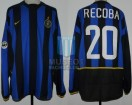 Internazionale - 2002/03 - Home - Nike - Pirelli - Serie A Calcio - A. Recoba