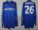 Juventus FC - 2000 - Away - Kappa - Sony - UEFA/Intertoto Cup - E. Davids