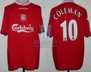 Liverpool FC - 2002/03 - Home - Reebok - Carlsberg - Coleman
