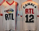 Paris Saint Germain - 1987/88 - Home - Adidas - Canal+/RTL - R. Wilkins