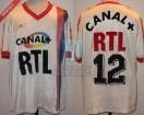 Paris Saint Germain - 1987/88 - Home - Adidas - Canal+/RTL - R. Wilkins
