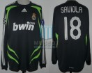 Real Madrid - 2007/08 - Away - Adidas - 4ta Fecha UEFA CL vs Olympiacos - J. Saviola