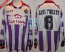 Real Valladolid - 1997/98 - Home - Kelme - Caja España - J. Torres
