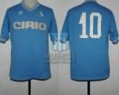 SSC Napoli - 1984/85 - Home - Linea Time - Cirio - 12da Fecha Serie A Calcio vs AS Roma - D. Maradona