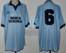 SS Lazio - 1995 - Home - Umbro - Banca Di Roma - Friendly vs San Lorenzo - J. Chamot