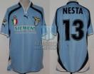 SS Lazio - 2000//01 - Home - Puma - Siemens - Lega Calcio - A. Nesta