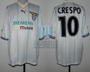 SS Lazio - 2001/02 - Away - Puma - Siemens Mobile - Pre UEFA CL VTA vs FC Copenhagen - H. Crespo