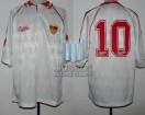 Sevilla FC - 1992/93 - Home - Bukta - 5ta Fecha Liga España vs Athletic Bilbao - D. Maradona