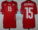 Switzerland - 2014 - Home - Puma - R16 Brasil WC vs Argentina - B. Dzemaili
