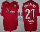 Wrexham FC - 2008/09 - Home - Umbro - Lease Direct - Conference Premier - M. Williams