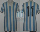 Racing Club - 1974 TN - Home - Ind. Lanus - Nacional 74' - H. Gottardi