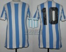 Racing Club - 1977 TM - Home - Uribarri - 46ta Fecha vs Platense - J. Villa