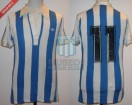 Racing Club - 1980 TM - Home - Adidas - 8va Fecha vs Independiente - G. Calderon