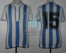 Racing Club - 1980 TM - Home - Adidas - 18va Fecha vs Talleres Cba.- O. Roldan