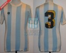 Racing Club - 1981 TM - Home - Sportlandia - 34ta vs Boca Jrs. - A. Perez