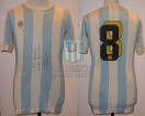 Racing Club - 1981 TM - Home - Sportlandia - 34ta Fecha vs Boca Jrs. - J. Barbas