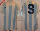 Racing Club - 1983 TM - Home - Adidas - 38va Fecha vs Independiente - C. Lozano