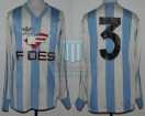 Racing Club - 1986/87 - Home - Adidas - Fides - G. Szulz