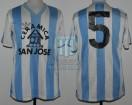 Racing Club - 1985 MZ - Home - Adidas - Ceramica San Jose - T. Mendocino - H. Cordero