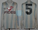 Racing Club - 1987 CI - Home - Adidas - Fides - Copa Invierno - L. Costas
