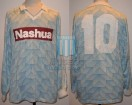 Racing Club - 1988/89 - Away - Adidas - Nashua - 36ta Fecha vs Independiente - R. Paz