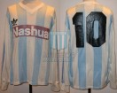 Racing Club - 1988/89 - Home - Adidas - Nashua - 34ta Fecha vs R. Central - R. Paz