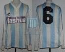 Racing Club - 1988/89 - Home - Adidas - Nashua - M. Asteggiano