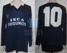 Racing Club - 1989/90 - Away - Adidas - Inca Seguros - 38va vs San Lorenzo - J. Acuña