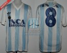 Racing Club - 1989/90 - Home - Adidas - Inca Seguros - M. Vanemerak